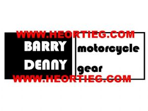 Barry Denny Dealer Decals Transfers DDQ14